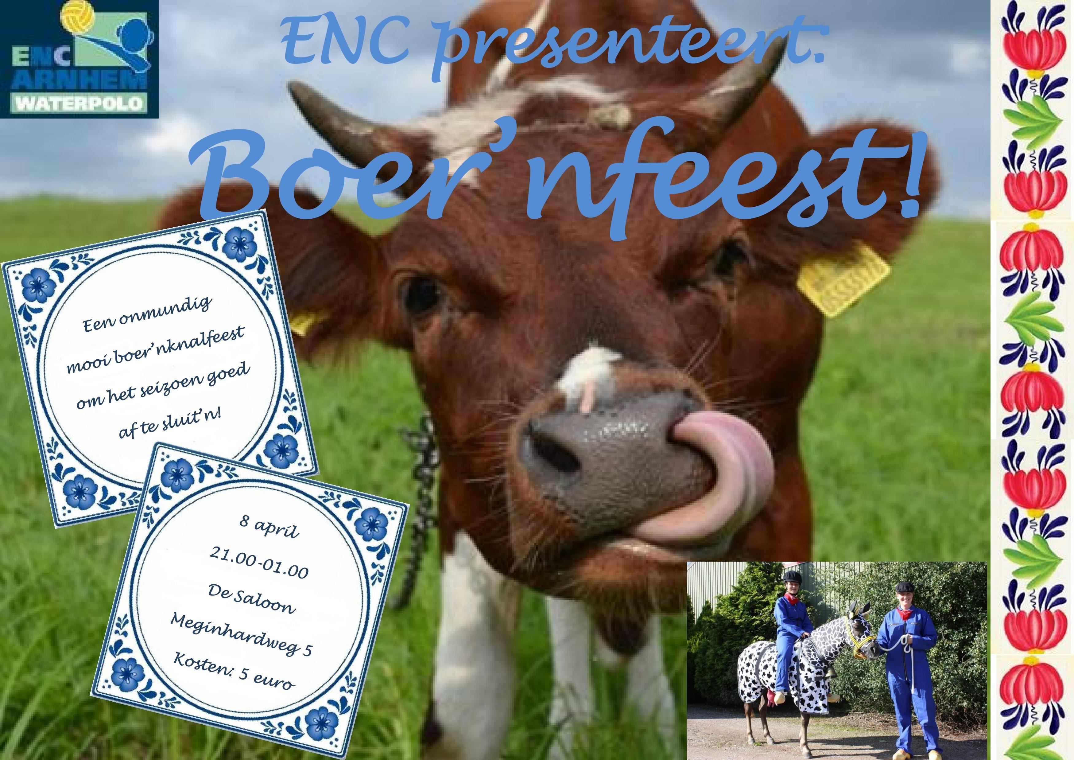 Poster Boer'nfeest