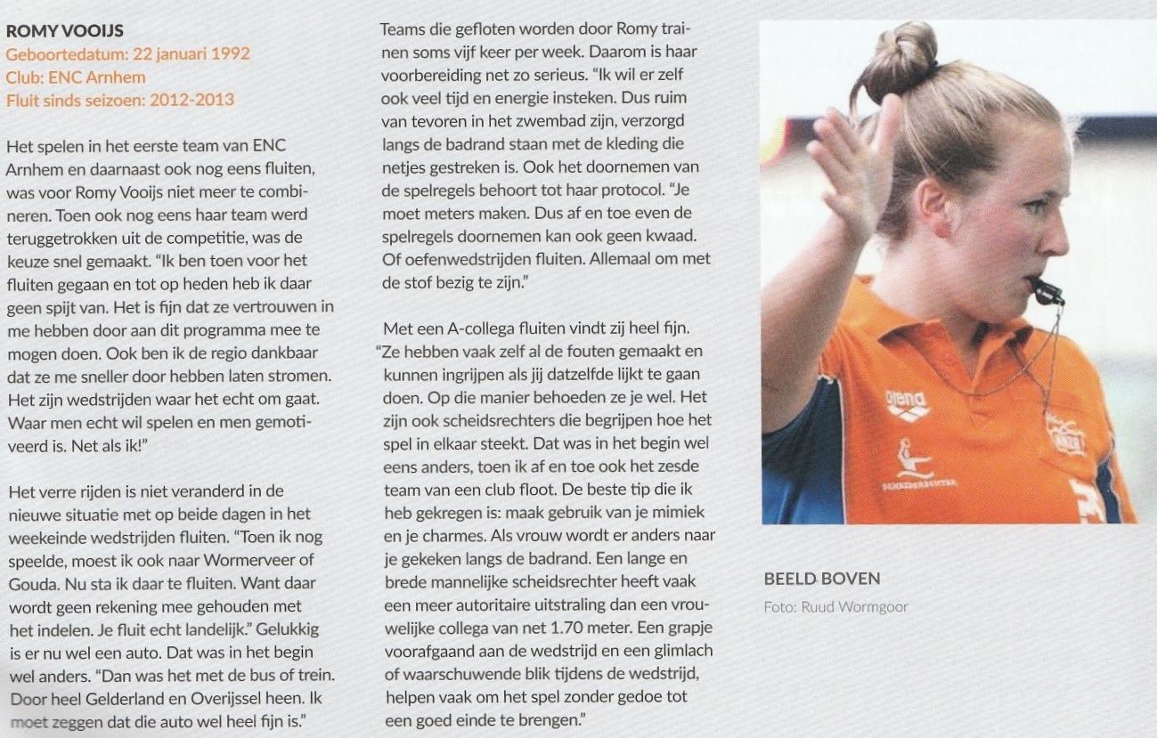 ENC Romy Vooijs, interview ManMeer