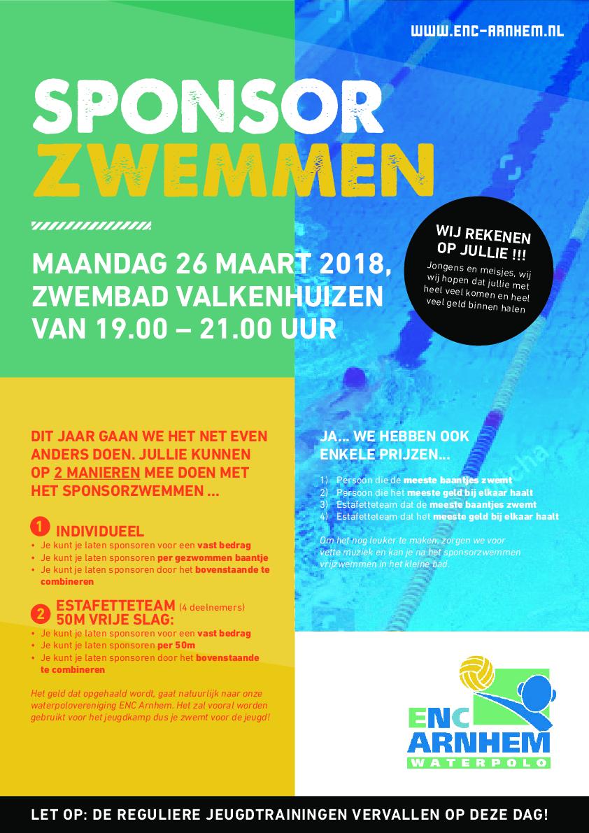ENC Poster Sponsor Zwemmen